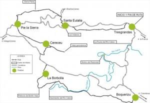 Itinerario Ruta de los Colores , Valle Oscuru, Llanes, Asturias